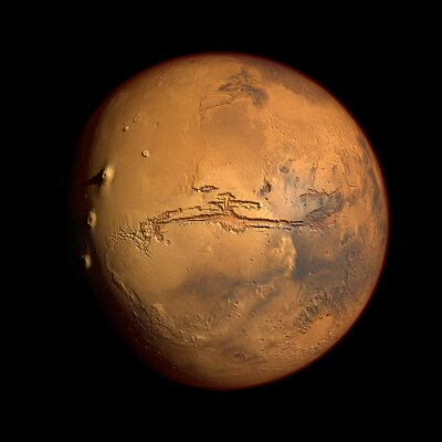 Naklejka Mars