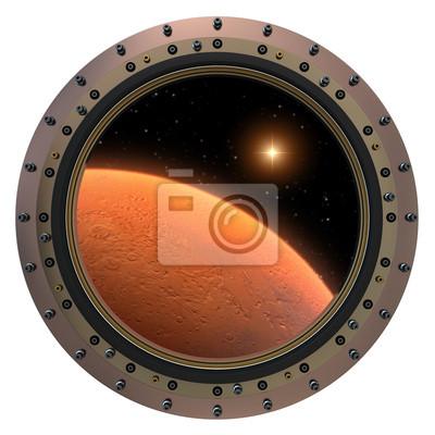 Mars kosmiczne iluminator.