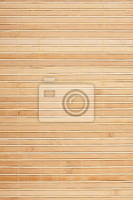 Mata bambusowa tle . Mat z żółtym bambusa