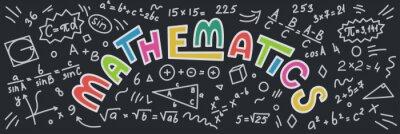 Naklejka Matematyka.