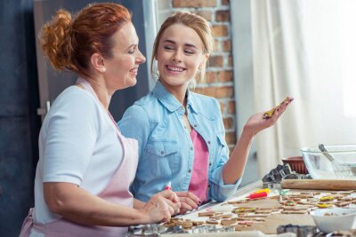 Matka i córka co ciasteczka