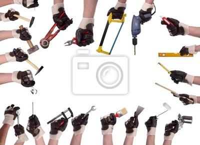 Megaset narzędzia ręczne