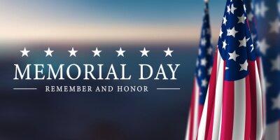 Naklejka Memorial Day