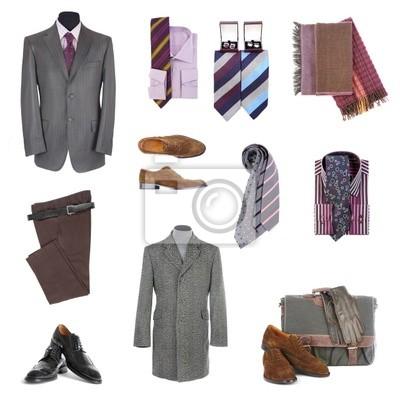 Męskie ubrania i dodatki