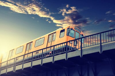 Naklejka Metro