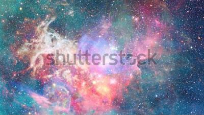 Naklejka Mgławica w przestrzeni. Kosmiczne tło. Elementy tego zdjęcia dostarczone przez NASA.