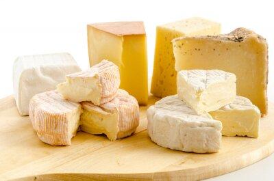 Naklejka Międzynarodowe specjały serowe