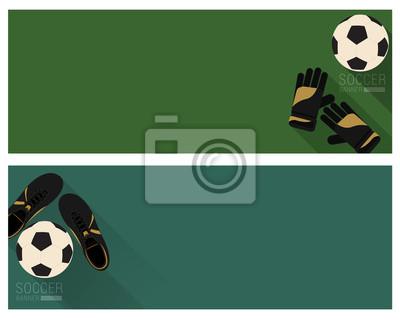 Mieszkanie nożnej banner
