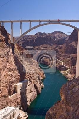 Mike O'Callaghan - Pat Tillman Memorial Bridge z Hoover Dam