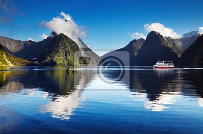Naklejka Milford Sound, Nowa Zelandia