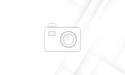 Naklejka Minimal geometric white light background abstract design. vector EPS10.