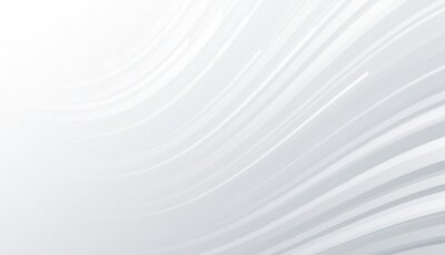 minimal white and gray background with wavy lines