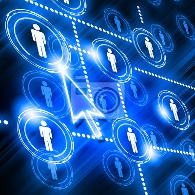 model sieci społecznej