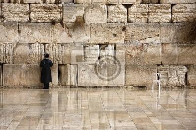 Naklejka Modlitwa przy Ścianie Płaczu