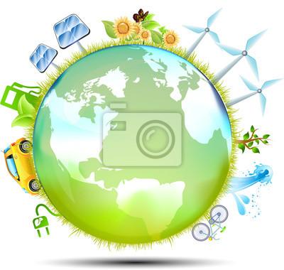 Naklejka Mondo Ekologia