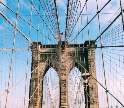 Naklejka Most Brookliński