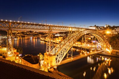 Naklejka Most Luis Dom