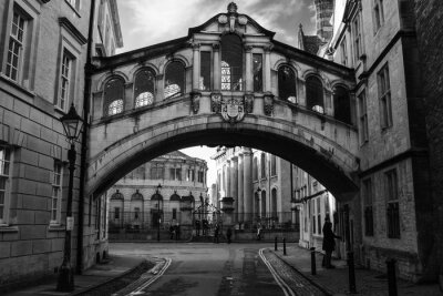 Naklejka Most Westchnień w Oxford.