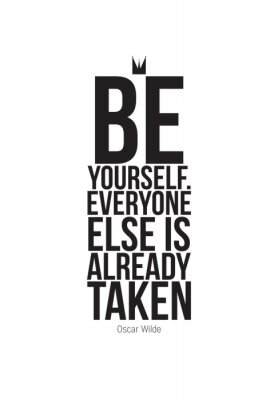 Naklejka Motivational quotes poster