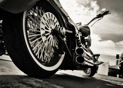 Naklejka Motocykl