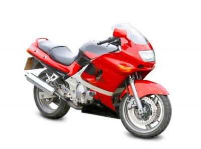 Naklejka motocykl samodzielnie