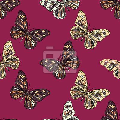 motyle w zentagle stylu