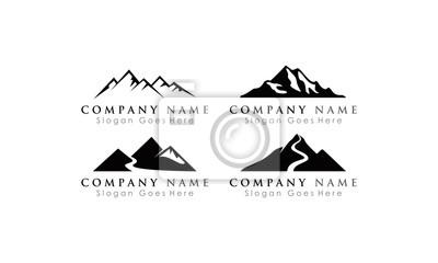 mountain logo peak