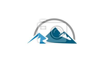 mountain nature vector