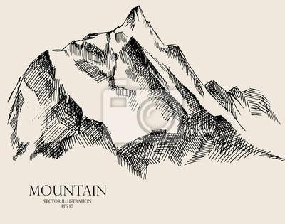 Mountain szkic