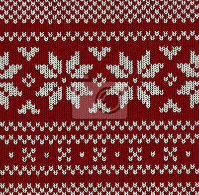 Muster Norweger - Christmas Vector