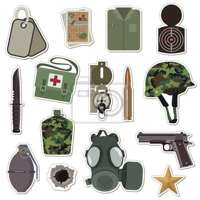 Naklejka Naklejki Wojskowe