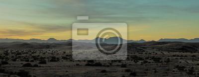 Naklejka Namibia deserto