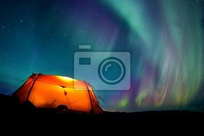 Namiot i Northern Lights