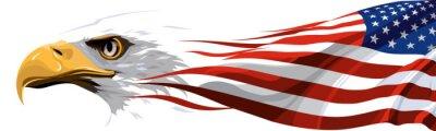 Naklejka Narodowy symbol Stanów Zjednoczonych