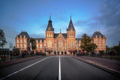 Naklejka National Museum Amsterdam