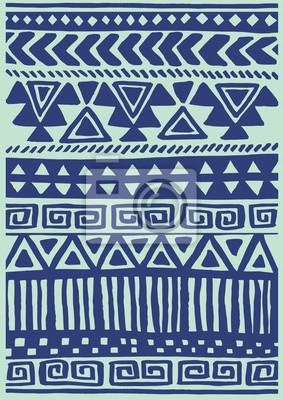 Native wzór włókienniczych