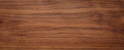 Naklejka Natural oak texture with beautiful wooden grain, walnut wooden planks, Grunge wood wall.