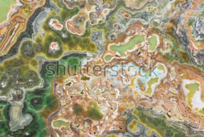 Naklejka Naturalna onyksu tekstura o marmurowa tekstura dla tło wzoru z wysoka rozdzielczość
