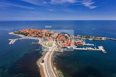 Naklejka Nessebar ancient city on the Black Sea