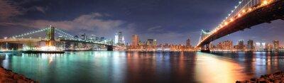 Naklejka New York City panorama