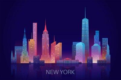 Naklejka New York skyline