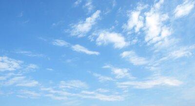 Naklejka niebieskie niebo