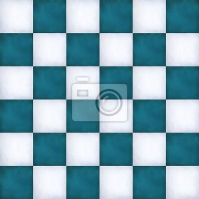 Niebieskie tło cyfrowe Chessmate w stylu retro
