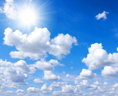 niebo i słońce