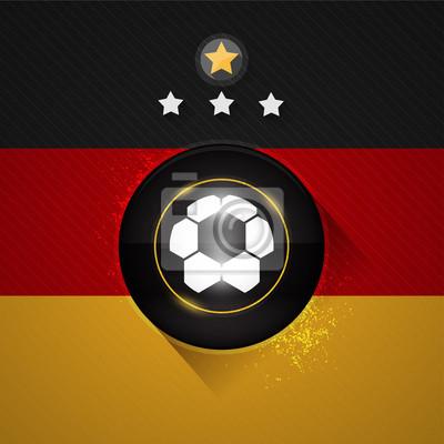 Niemcy Flaga piłki nożnej