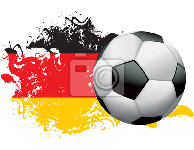 Niemcy Piłka nożna Grunge design