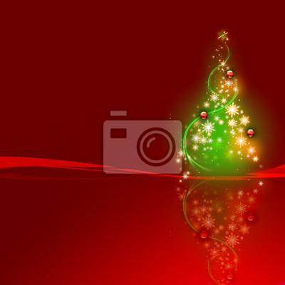 Noël sapin rouge niejasne 2