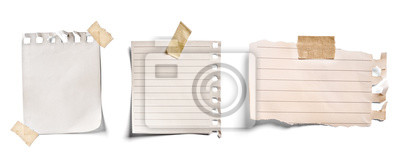 Naklejka note paper blank sign tag label