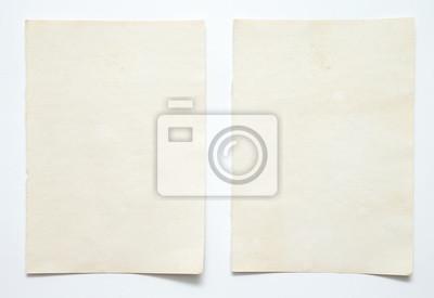 Naklejka note paper on white background
