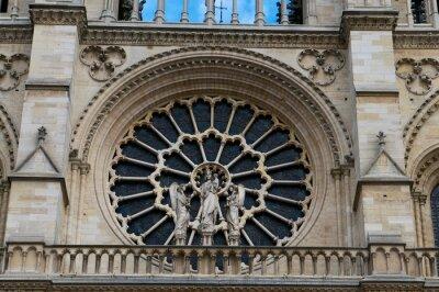 Naklejka Notre Dame
